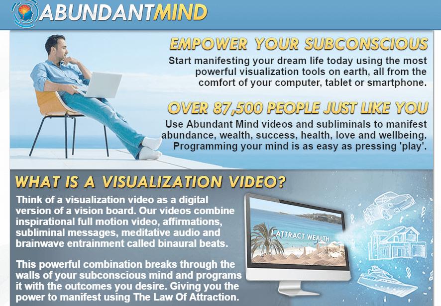 Abundant Mind Subliminal Visualization Videos Review