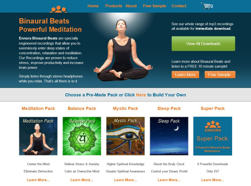 Ennora Binaural Beats Review